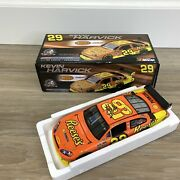 Kevin Harvick Reeseand039s Signed 2008 Chevy Impala Nascar 1/24 Diecast 17 Of 3777