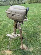 1950andrsquos Evinrude Outboard Boat Motor