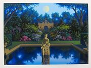Jim Buckels Vale Of Enna Hand Signed Limited Edition Serigraph Art