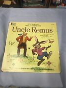 Disneyland Record High Fidelity Uncle Remus 1959 As-is