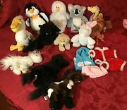 Lot 12 Ganz Webkinz Liland039 Kinz Stuffed Animals Clothes Clean Used Codes No Tags