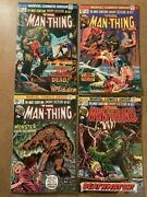 Man-thing Comics - 22 Book Lot Marvel Bronze Age Giant-size Included