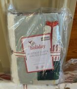 Pottery Barn Kids Heritage Santa Quilt Standard Sham Only Christmas Sold Out