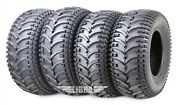 Set 4 Free Country Atv Tires 24x9-11 And 24x10-11 4pr D930