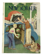 New Yorker Magazine August 24 1946 Church Sale ⛪️ Antique Shopping 15 Cents