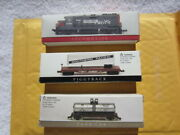 Locomotive Sp + Piggy Back + Tank Car N Scale High Speed Metal Products 13