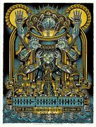 Mint And Signed Nine Inch Nails Radio City Nyc Emek A/p Poster 28/40