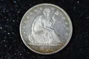 Estate Find 1875 - S Seated Liberty Half Dollar H9399