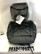 Harley Carroll Leather Motorcycle Touring Travel Bag Sissy Bar Carrier Case Set