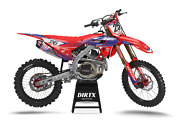 New Dirtx Industries Honda Avant Complete Graphic Kit Cr Crf 125 150 250 450 500