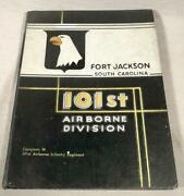 1956 Fort Jackson South Carolina Army 101st Airborne Division Yearbook Company M