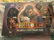Rare Doctor Dr Who The Complete David Tennant Years 25 Disc Set Dvd Lot 2011