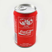 Coca Cola Can Fifa With Content, Full, Unopened, Unopend Can Germany 1990