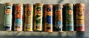 Rare American Mint Corp Trooper 1943 Candy Containers Set Of 8 Free Shipping