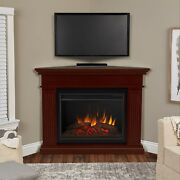 Realflame Kennedy Electric Fireplace Infrared Grand Corner X-lg Firebox 2 Clrs
