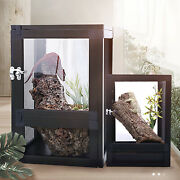 Large Tank Cage Reptile Pet Enclosure Lizard Spider Insect Snake Mesh Screen