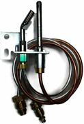 15 Gas Log Pilot Assembly W/ Thermocouple Natural Gas For Manual Safety Valve