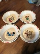 1995 Kelloggs Cereal Bowls Tony The Tiger Snap Crackle Pop Toucan Sam Vintage 4
