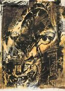 Vhils/alexandre Farto Psg- Relic Print Edition Signed/numbered Underdogs Gallery