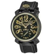 Gagandagrave Milano 925 Argento Menand039s Mechanical Watch Rose Gold Limited Edition