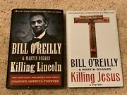 Bill O'reilly Books- Killing Jesus And Killing Lincoln Both 1st Edition