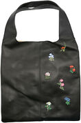 Hayward Womenand039s Grand Shopper Embroidered Leather Tote