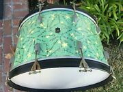 Leedy Autographs Of The Stars 26x14 Bass Drum The Holy Grail Of Finishes
