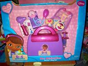 Disney Doc Mcstuffins Doctorand039s Bag Set Age 3+ 7 Pieces New In Box Nrfb