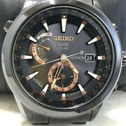 Seiko Astron Limited Edition 2012 Sast001 Gps Solar Menand039s Watch Rare From Japan