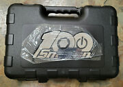 New Snap-on Tools 100th Anniversary 100 Piece 1/4 Socket Ratchet Extension Set