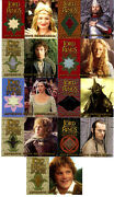 Topps Lord Of The Rings Return Of The King Update Full 9 Costume Card Set Rotk