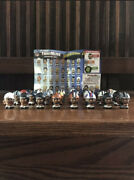 New Complete Set Of Nfl Series 1 Qb Teenymates Figures With Rare 1192 Gold Fig
