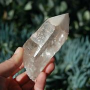 4 309g Isis Face Scarlet Temple Lemurian Seed Quartz Crystal Dreamsicle Master