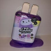 New I Dig...monsters Treats Giant Plush Monji Purple W/ Blind Popsicle In Tummy