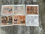 Lot Of 6 Large Tandy Craftaid Religion Love Themed 2019 2067 3121 3217 6522 6524