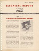 Technical Report To Bottlers Of Coca-cola .dated Sept. 28., 1948