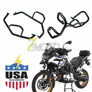 Engine Guard Crash Bars Protector Upper Lower Kit Fit Bmw F750gs F850gs Us Stock