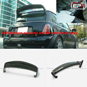 For Mini R50 R53 Mini Cooper Aqr Style Forged Carbon Look Rear Roof Spoiler Wing