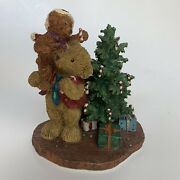 Bears From The Past Helping Dad Decorate The Tree Item No.16803 Christmas Fig