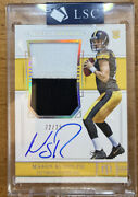 2018 National Treasures Mason Rudolph Rc Patch Auto 22/25 Ssp True Rpa Seal