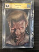 The Boys Dear Becky 1 Cgc 9.8 Ss Signed By Anthony Starr Homelander Dark Cover
