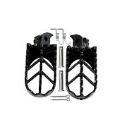 Foot Pegs For Honda Crf50 70 Crf100 Xr50r And Pit Bikes/ Dirt Bikes Black Color