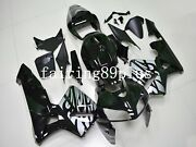 Black Silver/gray Tribal Abs Injection Fairing Kit Fit For 2005 06 Cbr600rr