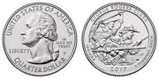 2017 P Unc Uncirculated George Rogers Clark Indiana Quarter 25 Cent Coin