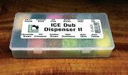 Hareline Ice Dub 12 Color Dubbing Dispenser Ii Synthetic Fly Tying Material