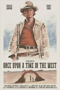 Once Upon A Time In The West By Yvan Quinet Ltd X/40 Screen Print Poster Mondo