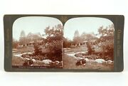 Canadian Scenery Stereoview Iroquois Cottage 1000 Islands Nerlich And Co Andcopy1905
