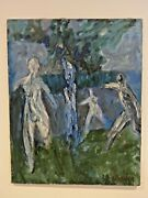 Original Painting V.kh.aizenberg Ghosts 1987 Oils 1000x800 Moscow