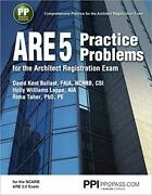 Ppi Are 5 Practice Problems For The Architect Registration Exam 1st Editionandhellip