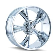 Cpp Ridler 695 Wheels 20x8.5 Fits Dodge Charger Coronet Dart